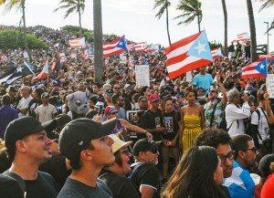 July 17 protest demanding resignation of Gov. Ricardo Rosselló in San Juan, Puerto Rico. Hundreds of thousands have marched. Question posed is what should working people do next.