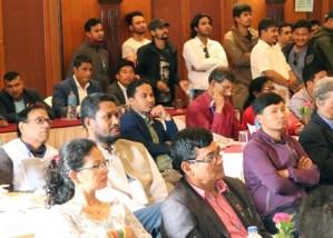 Delegados a conferencia Asia-Pacífico de solidaridad con Cuba, en Katmandú, Nepal, el 26 de julio.