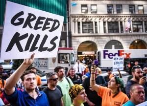 Obreros de la construcción en Nueva York condenan muertes y lesiones en el trabajo el 17 de septiembre. Los trabajadores necesitan luchar por el control de la producción para prevenir estas y otras amenazas a la tierra y el trabajo, incluyendo la contaminación del aire, agua y suelo.