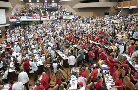 1 300 delegados de 86 países asistieron a conferencia de la Habana del 1 al 3 de noviembre.