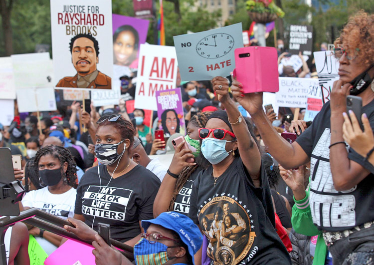 June 15 Atlanta march organized by NAACP. Protests continue across the U.S., worldwide.