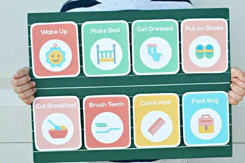 printable toddler schedule
