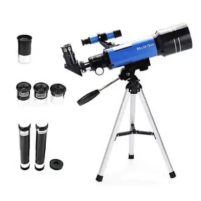 Inspired your child's love of science with this open ended toy. Real telescope to explore space, stars and the moon.