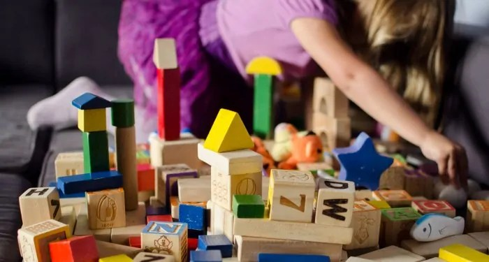 blocks are a fantastic open ended toy for kids to play with.