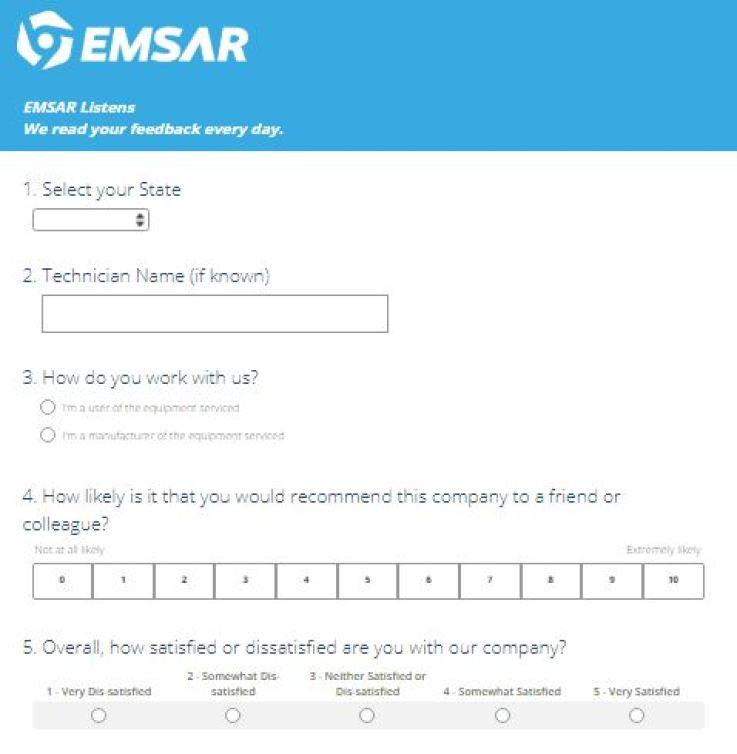 www.Emsarlistens.com - Win an iPad Mini - Emsar Survey