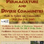 Permaculture event at the Mill
