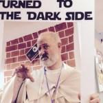 Obi Wan with dark side sign