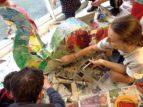 Summer art activities at the Mill E17