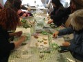 Art at the Mill - Many hands make the mural