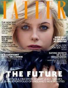 """Le rose inglesi"" sulla cover di Tatler Magazine"