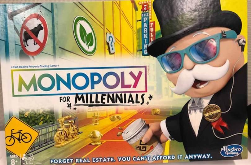 Il monopoli per millennial