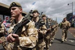 esercito inglese millennial