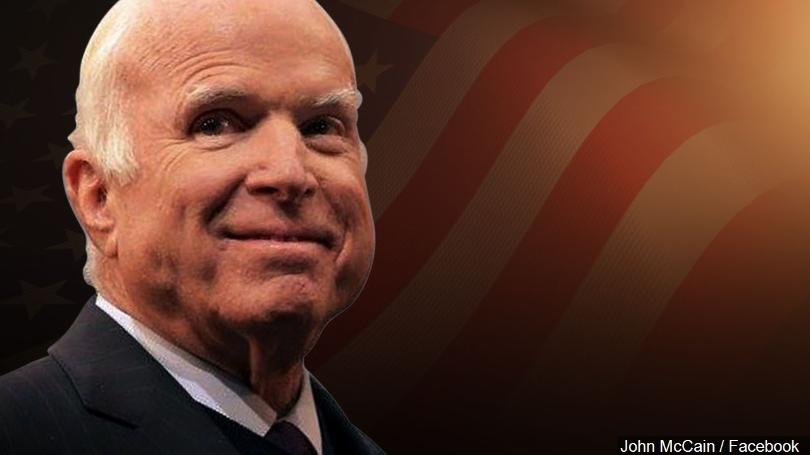 R.I.P. Senator John McCain- a good and decent man.