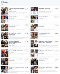 These pro-Bernie Sanders Facebook groups were all partially run by Macedonian hacker Oliver Mitov, who may or may not even exist.