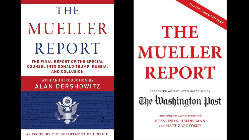 The long-awaited #MuellerReport has been released!