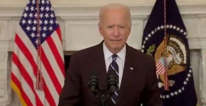 Biden Declares War on Unvaccinated Americans 'Our Patience is Wearing Thin and Your Refusal Has Cost All Of Us' (VIDEO)Cristina Laila