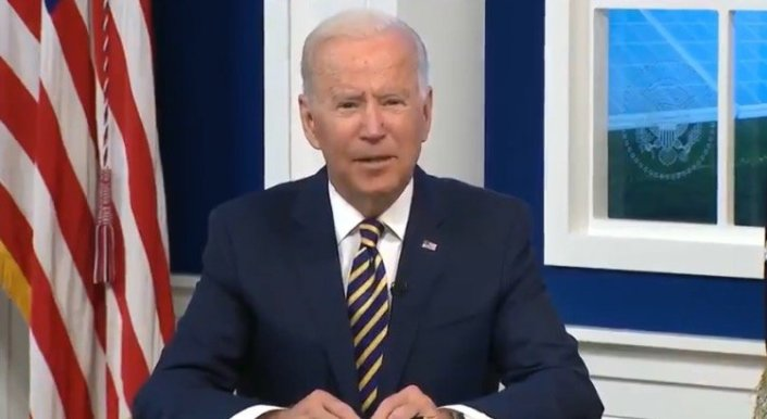 """Joe Biden: """"We've Set a Goal That by 2025 Our Power Sector will be Free of Carbon"""" (VIDEO)Cristina Laila"""