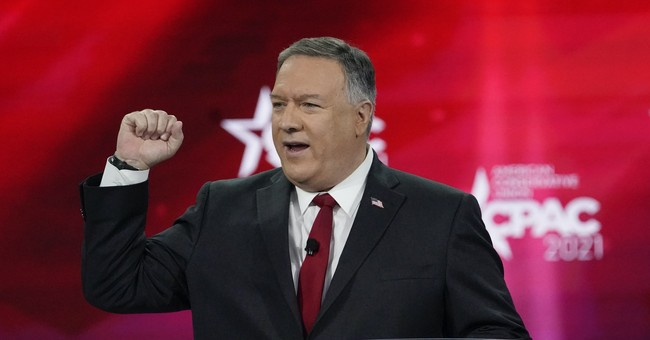 Why do people think Mike Pompeo is going to primary Trump?