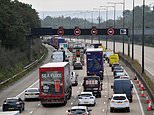 M25 remains shut 10 hours after lorry and car smash left three people 'seriously injured'