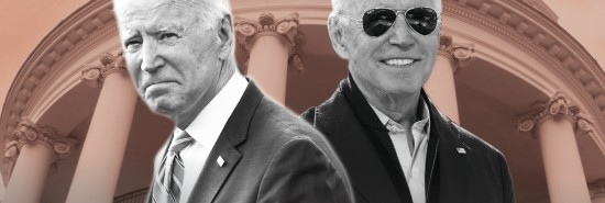 The two sides of Biden: Blame-shifter and credit-taker