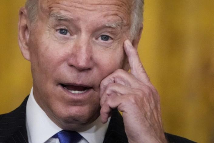 Joe Biden Blames Private Companies for Port Delays