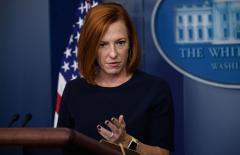 Psaki Downplays Biden, First Lady Not Wearing Masks in D.C. Restaurant