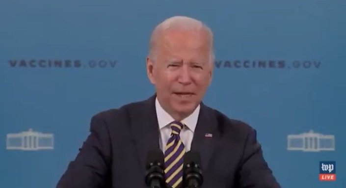 Biden Walks Away AGAIN without Taking Questions After Falsely Claiming Vaccine Mandates Had Nothing to do with Southwest Airlines' Flight Cancelations (VIDEO)Cristina Laila