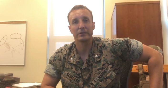 Marine Jailed After Criticizing Biden's Afghanistan Withdrawal to Plead Guilty at Court Hearing