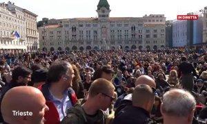 Italians Hold Massive Protests in Trieste Against Government's COVID Vaccine Mandates (VIDEOs)Joe Hoft