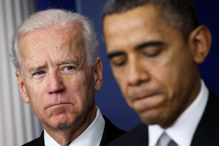 Biden's approval 10 points lower than Obama's at same point in presidency