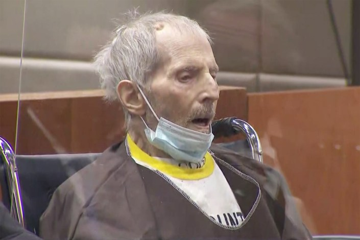 Robert Durst sentenced to life in prison without parole for murder of friend Susan Berman