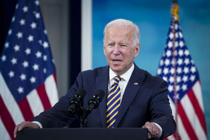 Biden says vaccine mandates 'should not be an issue that divides us'