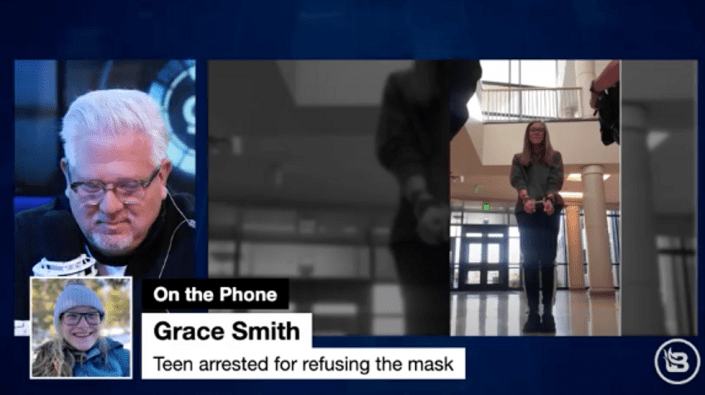 INSANITY: High schooler ARRESTED after not wearing a mask at school tells her story