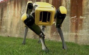 Robot dogs are now being equipped with assault rifles for military use