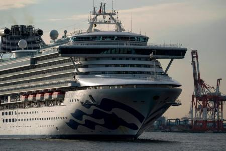 Americans on cruise ship in Japan diagnosed with coronavirus
