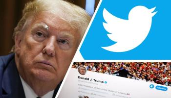 Trump pushes back against Twitter