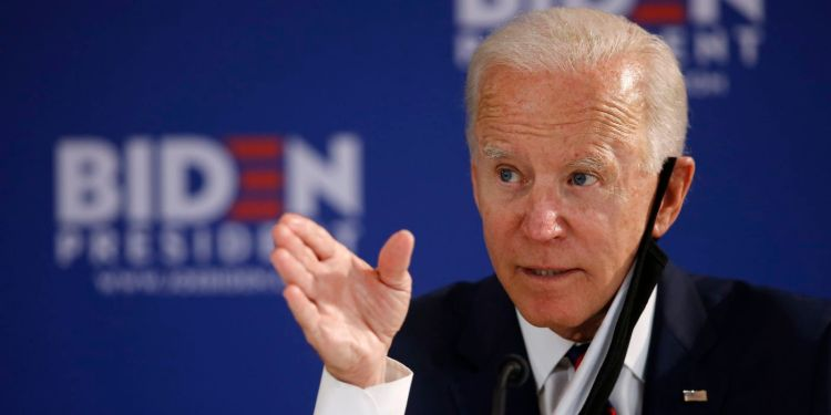Biden ahead of Trump by largest polling lead this year