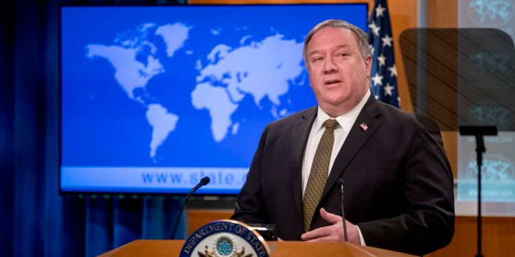 """Pompeo calls for China to release two Canadians detained on """"groundless"""" charges"""