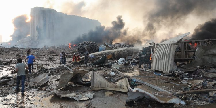 Lebanon after the explosions is in severe crisis