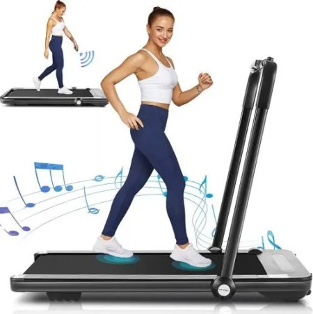 Borisdar 2 in 1 Folding Treadmill