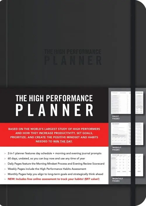 The High Performance Planner e1606406322991