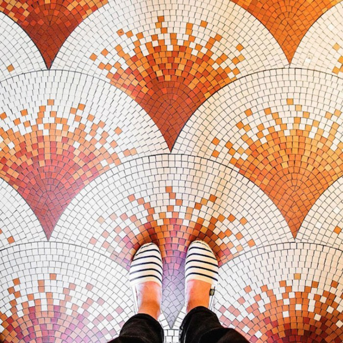 13 Parisian Floors That Remind Us That We Should Look Down More Often