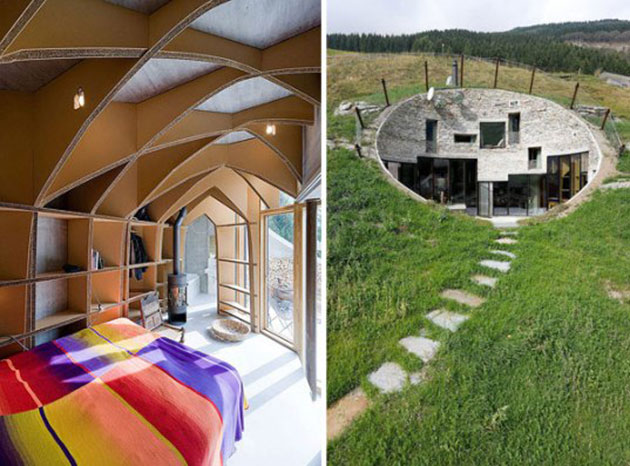 Some architects have proven that even a burrow can be turned into a luxury home
