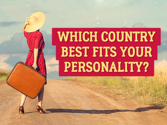 Take This Quick Test to Find Out Which Country in the World Best Fits Your Personality