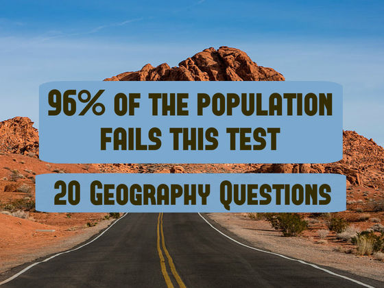 Only 4% Of The Population Can Pass This Geography Test