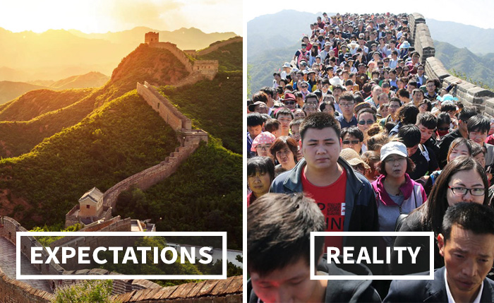 Travel Expectations Vs Realities: Brace Yourselves!