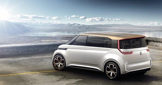 Volkswagen-Electric-Hippie-Van