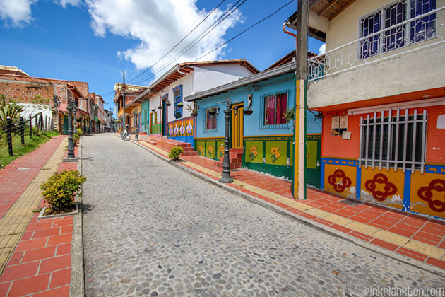 colorful town