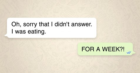 20 short messages that manage to speak volumes