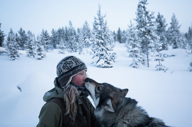 Striking Photo-Essay Follows Young Woman Living Off-the-Grid in Wild Northern Finland
